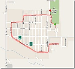 Dodge G=Q125 Route